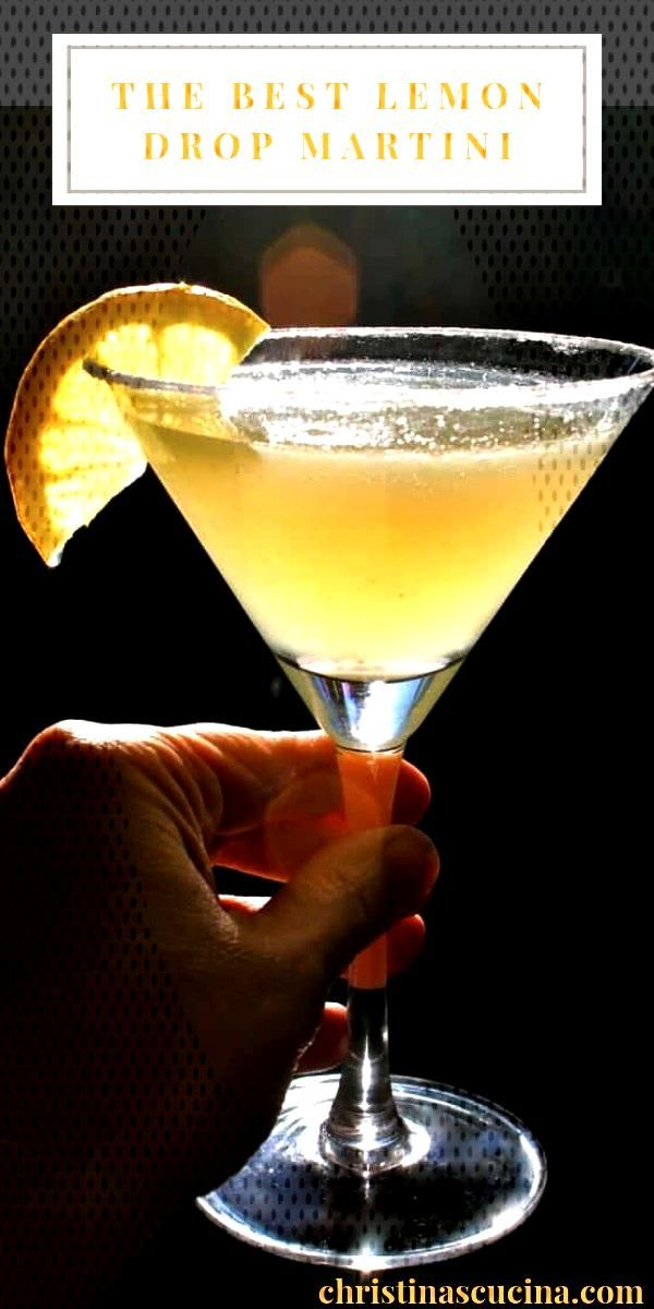 The Best Lemon Drop Martini You'll Ever Have...#drop