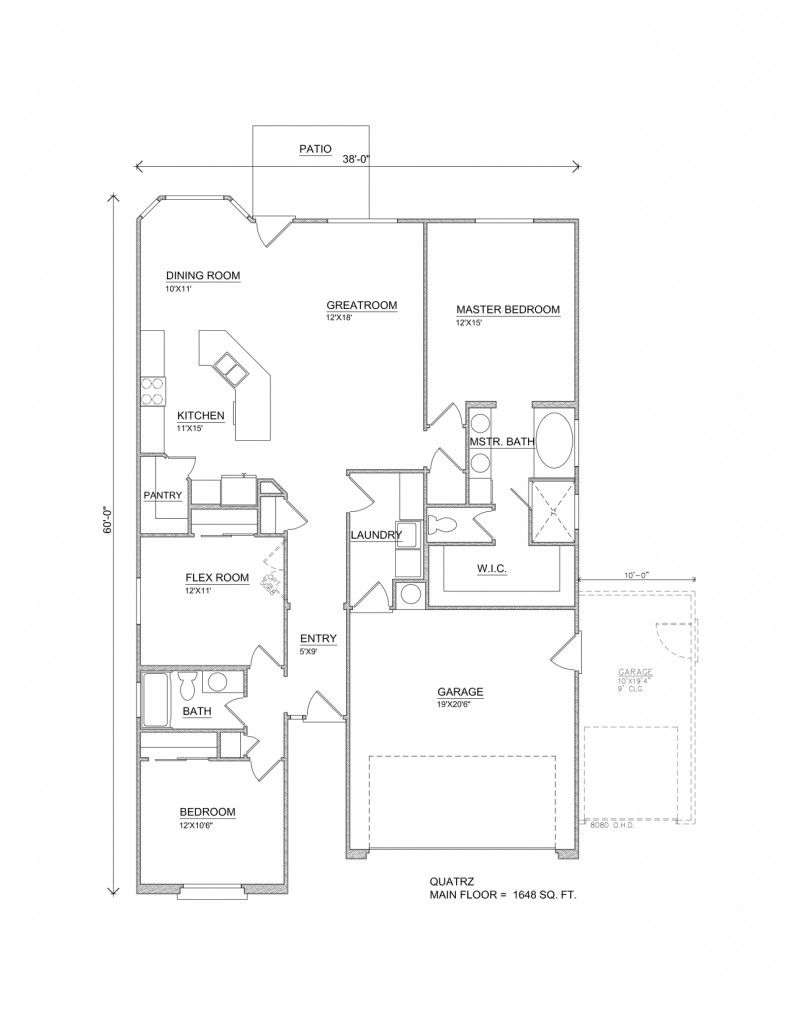 Quartz Floor Plan | Home Designs & Floor Plans | Pinterest