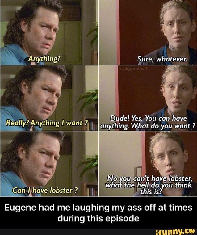Eugene | The Walking Dead/Norman Reedus | Walking dead funny ...