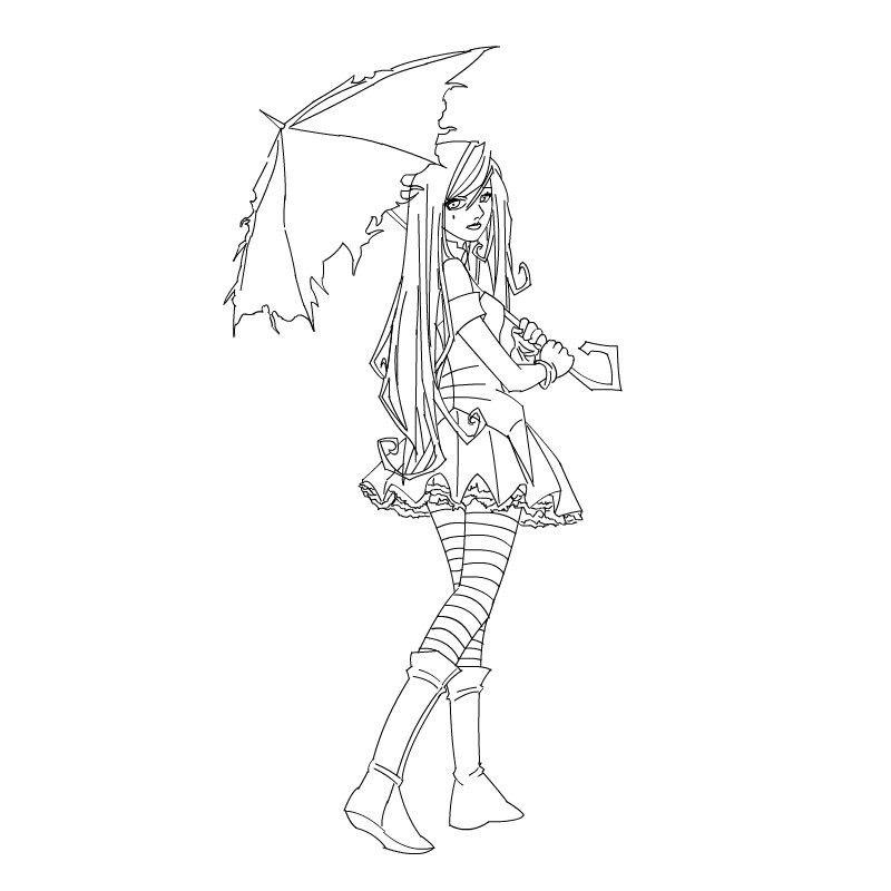color-anime-girl | muñequitas | pinterest | malvorlagen
