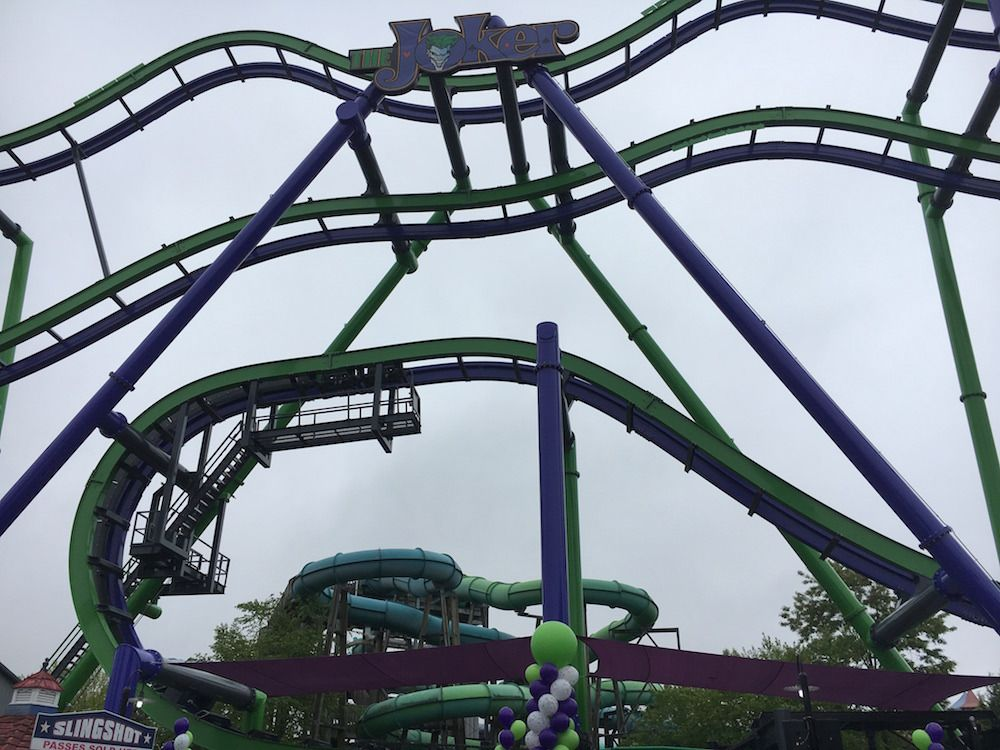 The Joker Is Six Flags New England S 13th Coaster Https Geekdad Com 2017 06 The Joker Six Flags New England Utm Campaign Coschedu Joker Is Six Flags Joker