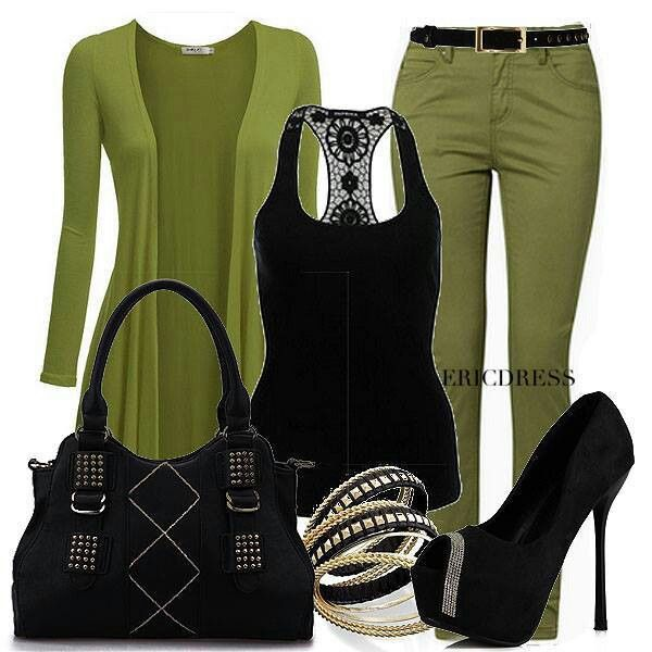 Black shoes n outfit