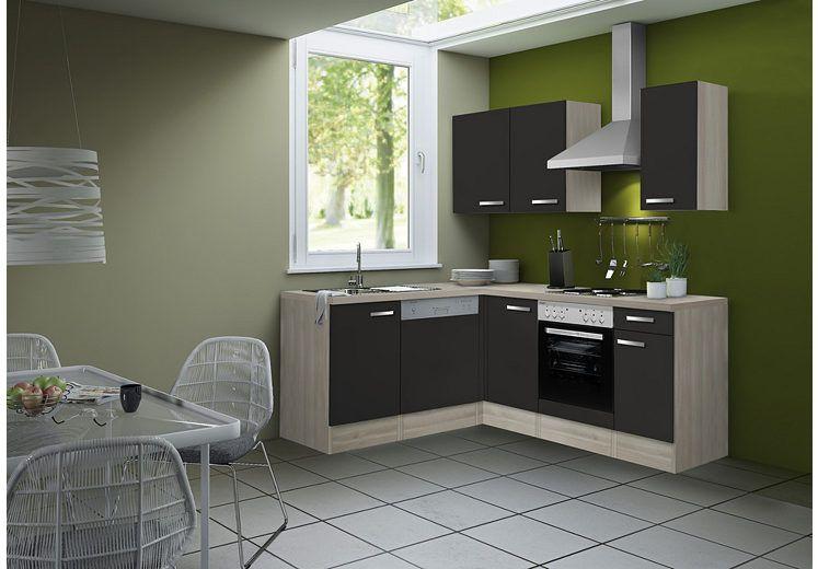 OPTIFIT Küchenzeile ohne E-Geräte »Skagen, Breite 210 x 170 cm - küchenblock ohne e geräte