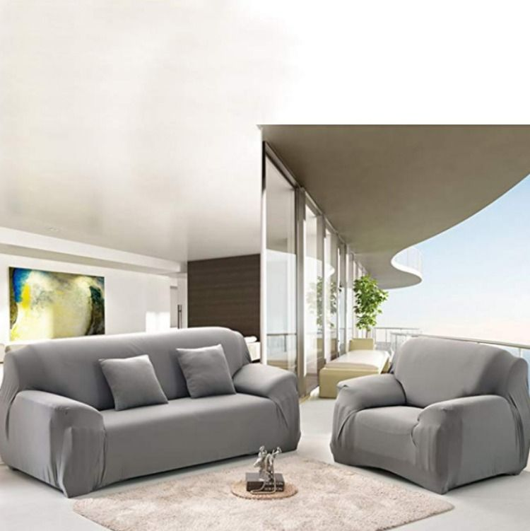 Wowtoy Sofa Cover 1 2 3 4 Seater Slip Cover Sofa Couch Stretch Elastic Fabric Sofa Protector In 2020 Slipcovered Sofa Fabric Sofa Uk Sofa