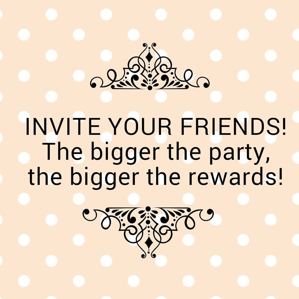 Mystery Hostess Invite Your Friends More