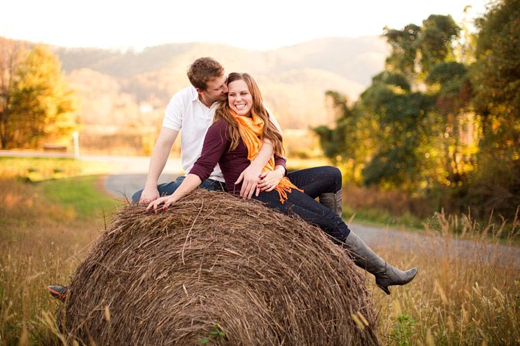 Hay bale! | Katelyn James Photography