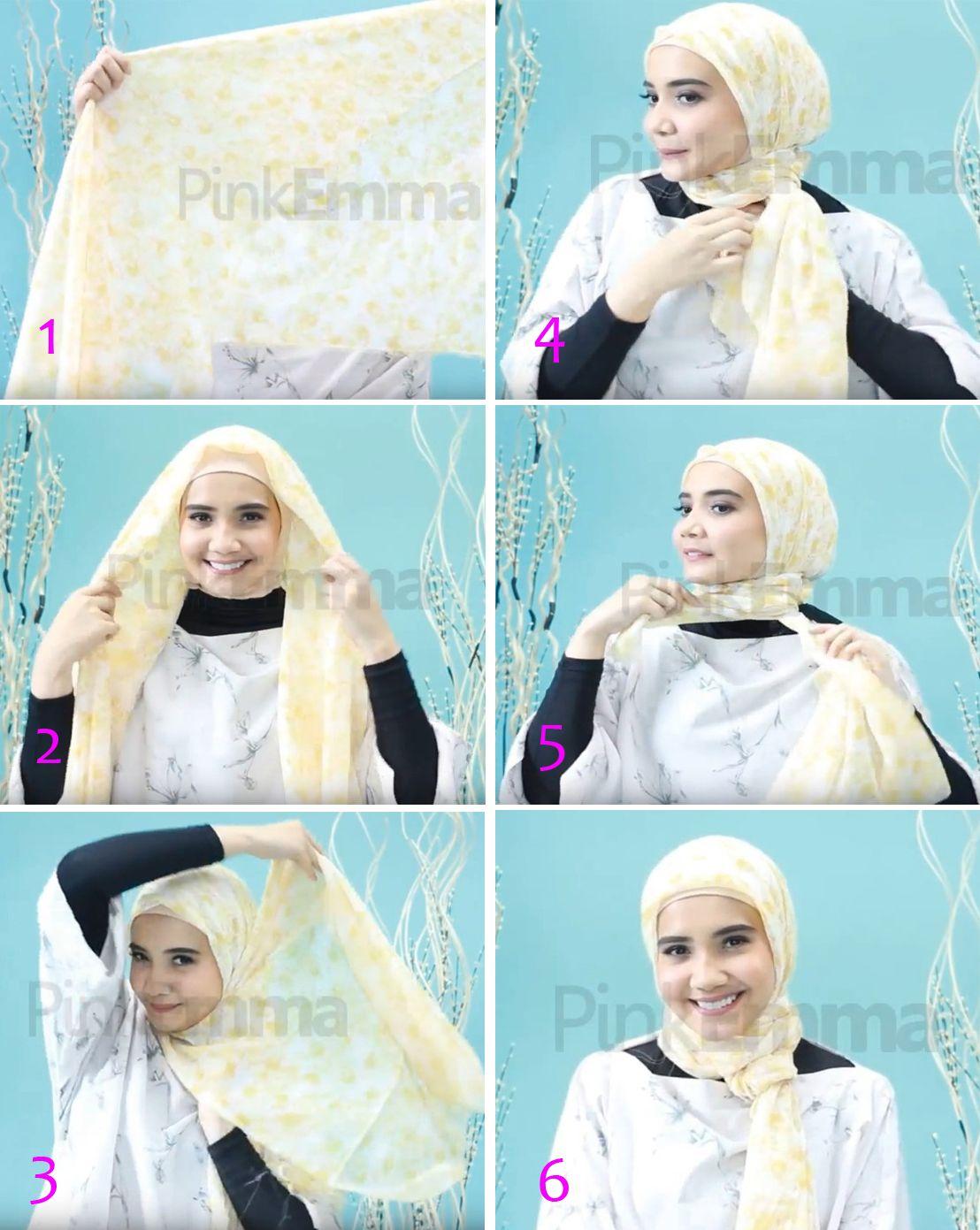 Tutorial Hijab Zaskia Sungkar Segi Empat Islam