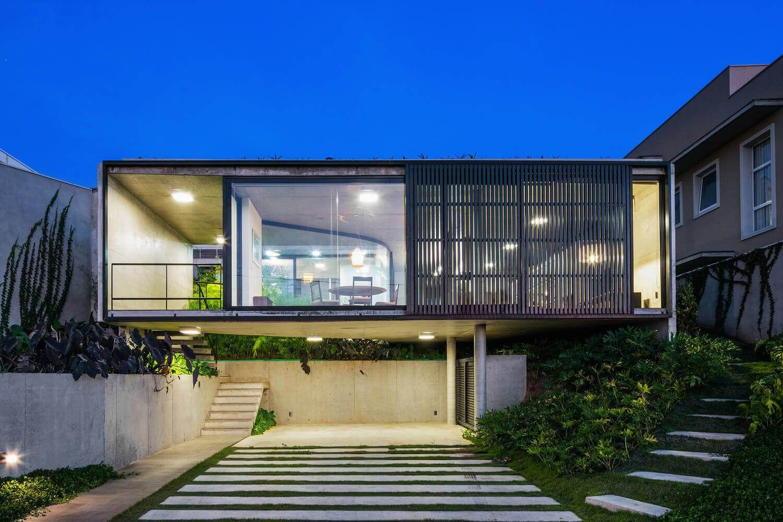 Casas modernas e casas bonitas veja 105 fotos incr veis for Casa moderna design