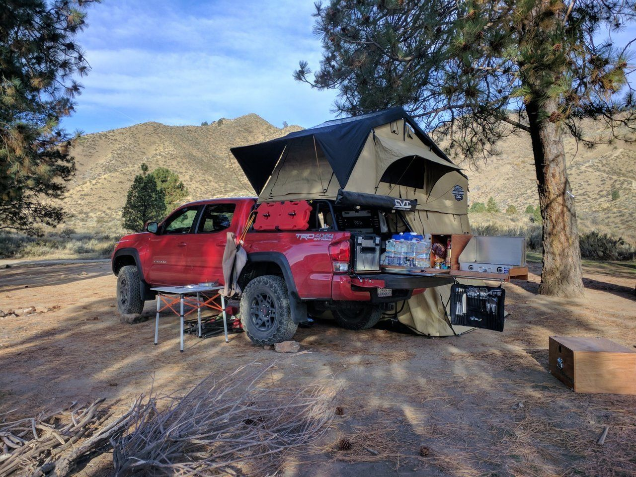 Project DIY Truckbed Pullout Kitchen (and BS) Truck