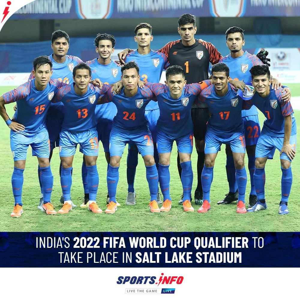 India Will Face Afghanistan For Asian Qualifier Match On June 9 Indianfootball Indafg Sportsdotinfo In 2020 2022 Fifa World Cup Fifa World Cup Sports