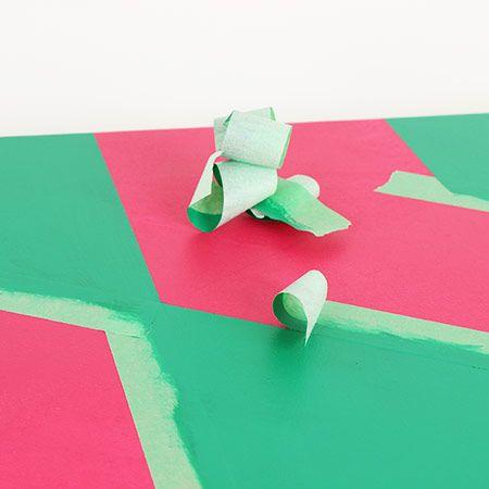 Geometric abstraction with masking tape / Abstraction géométrique avec ruban-cache | DeSerres