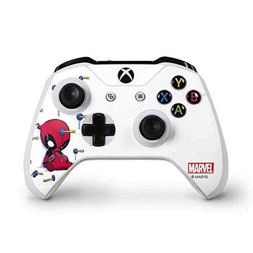 Marvel Deadpool Xbox One S Controller Skin Baby Deadpool Vinyl Decal Skin For Your Xbox One S Controller Want Deadpool Xbox One Xbox One S Marvel Deadpool