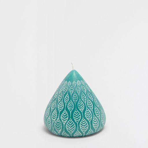 Imagen del producto Vela relieve color aguamarina Velas