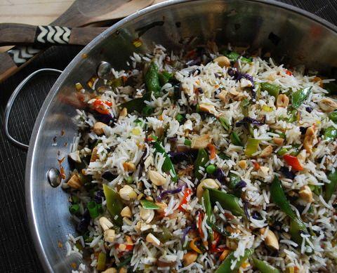 Cashew Confetti Rice