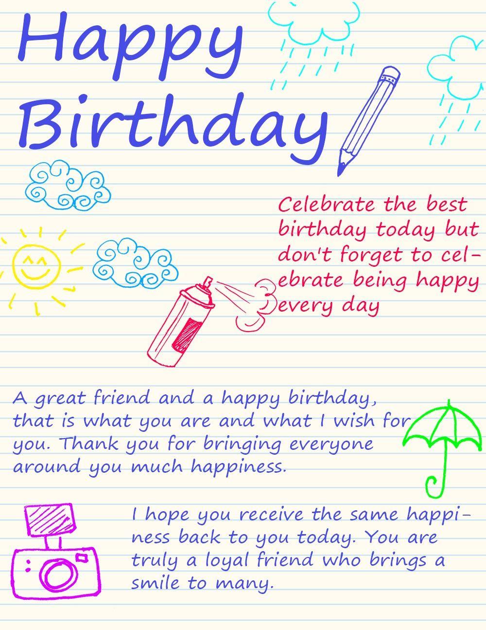 Happy Birthday Ecard Happy Birthday Pinterest Happy Birthday