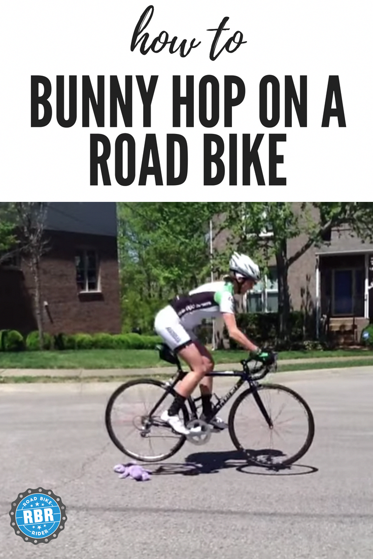 Sometimes You Need To Safely Jump Over Something On Your Road Bike