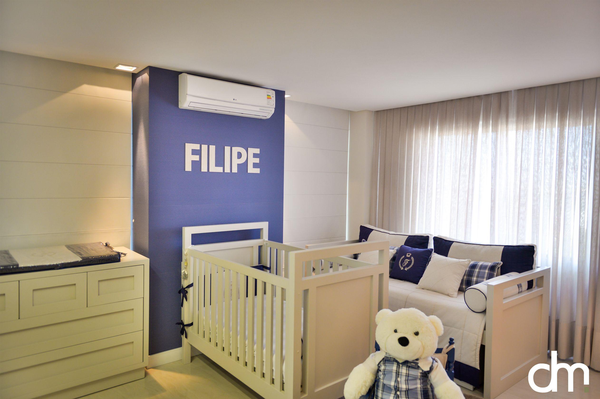 Decora O De Quarto De Beb Em Tons De Azul Marinho Azul Jeans  ~ Quarto Bebe Masculino Azul Marinho