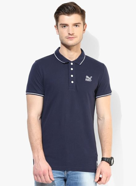 192ed72ea18 Buy Puma Archive Navy Blue Polo T-Shirt for Men Online India