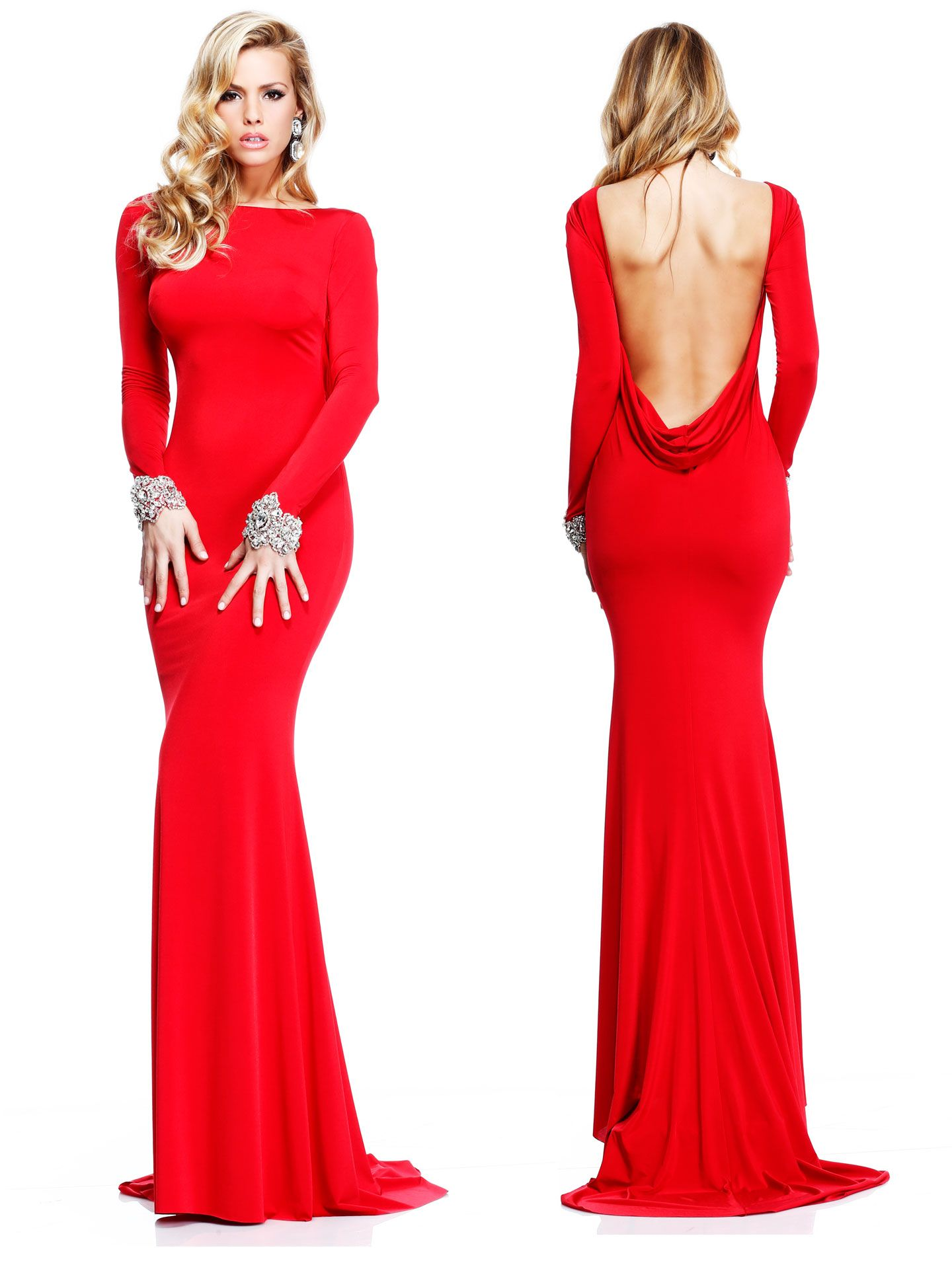 red prom dresses inspired by the dancing lady emoji floor