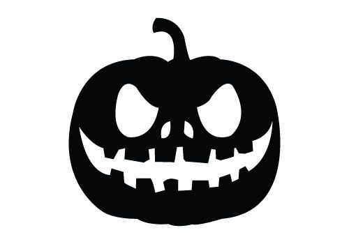 Pumpkin Silhouette Vector for free download comes with png, jpeg and eps files. This is an ideal Halloween silhouette to do Halloween vector graphics.