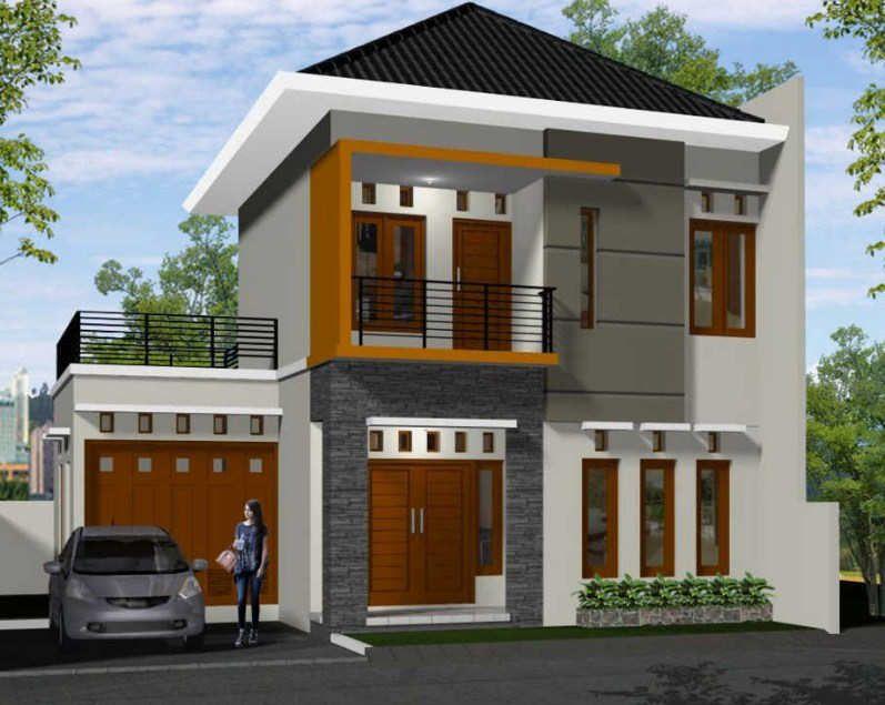 Gambar Rumah Sederhana Minimalis 2 Lantai Desain Rumah