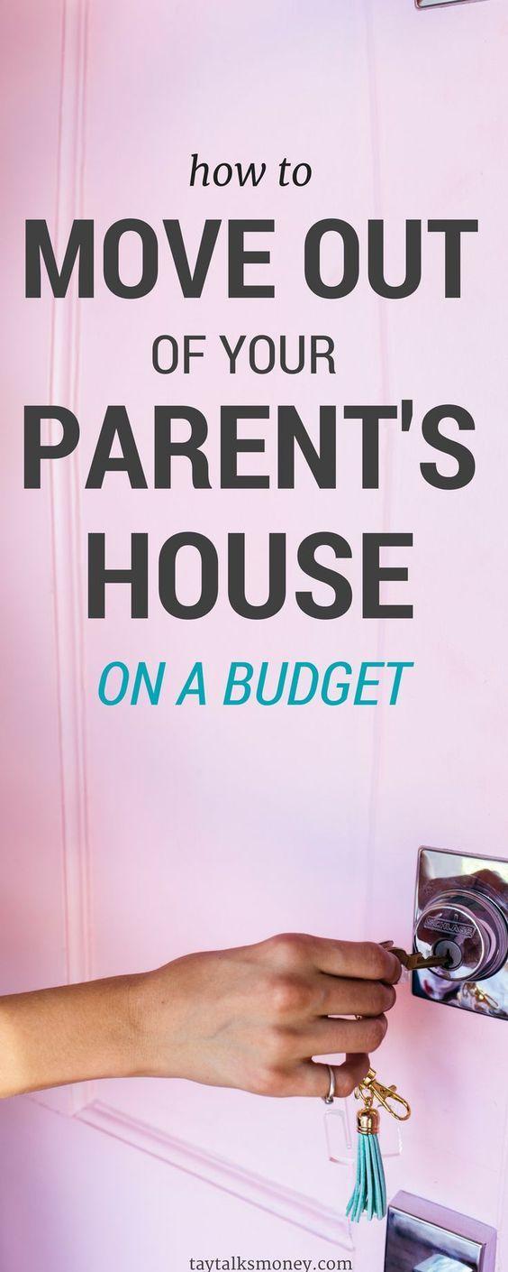 Wie Sie mit kleinem Budget aus dem Haus Ihrer Eltern ausziehen   – after grad