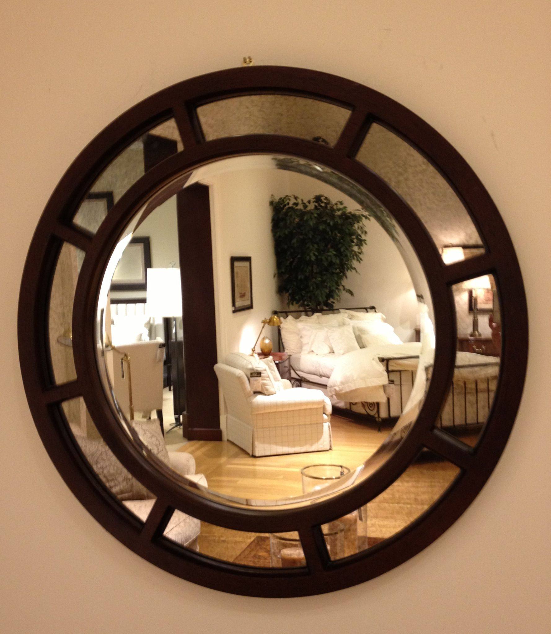 Round Mirror Make Outside Frame And Center My Current