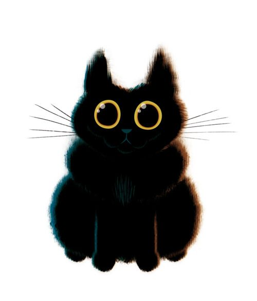 Collection of drawings, doodles and sketches by designers and illustrators of their cats.
