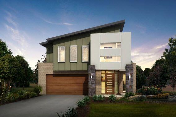 plano de una vistosa casa con diseo moderno plantas y dormitorios