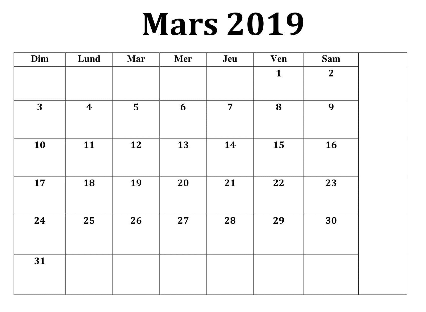 Calendrier De Mars 2019.Calendrier Mars 2019 Pdf Calendrier Mars 2019 Pdf Pdf