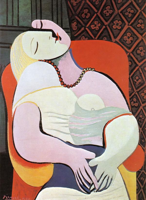 Cubismo: O Sonho, de Pablo Picasso