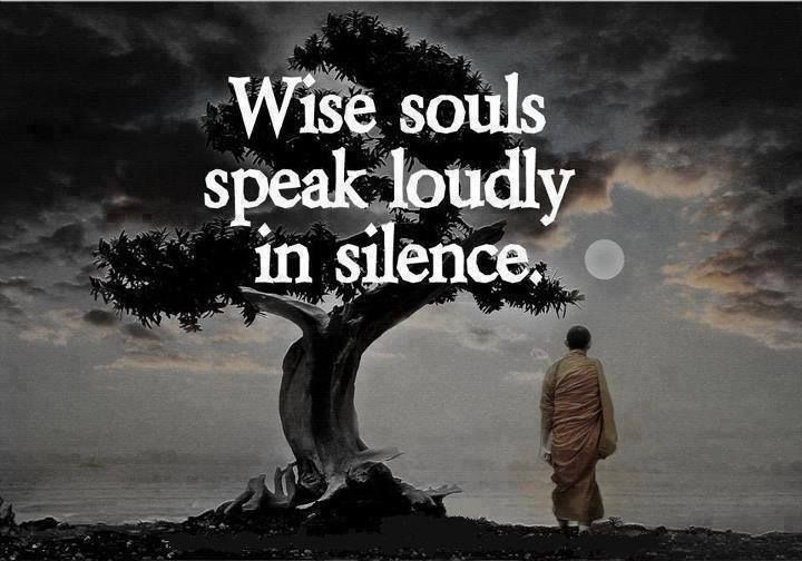 Wise Souls Silence Quotes Wise Silence