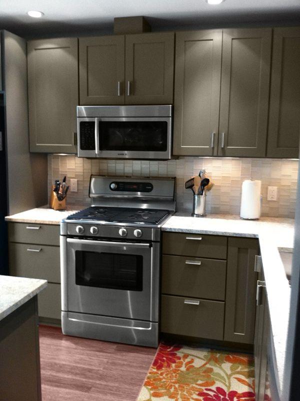 Paint kitchen cabinets grey | Konyha