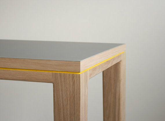 desk dining table r10 solid oak linoleum 200cm x by bpistorius furniture inspiration. Black Bedroom Furniture Sets. Home Design Ideas