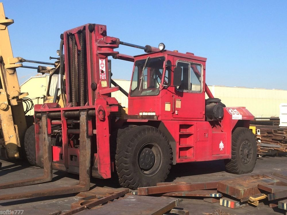 40000 LBS CAPACITY TAYLOR MODEL TY400M FORKLIFT / DUAL
