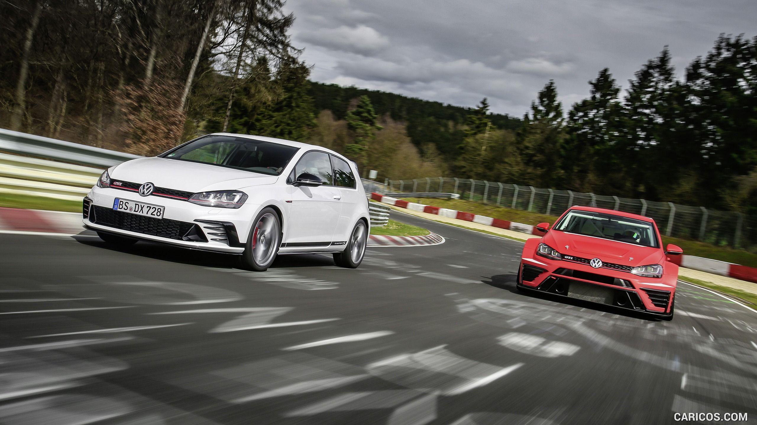 Volkswagen Golf Gti Clubsport S Smashes Own Nurburgring Record Autocar Golf Gti Volkswagen Golf Gti Volkswagen Golf