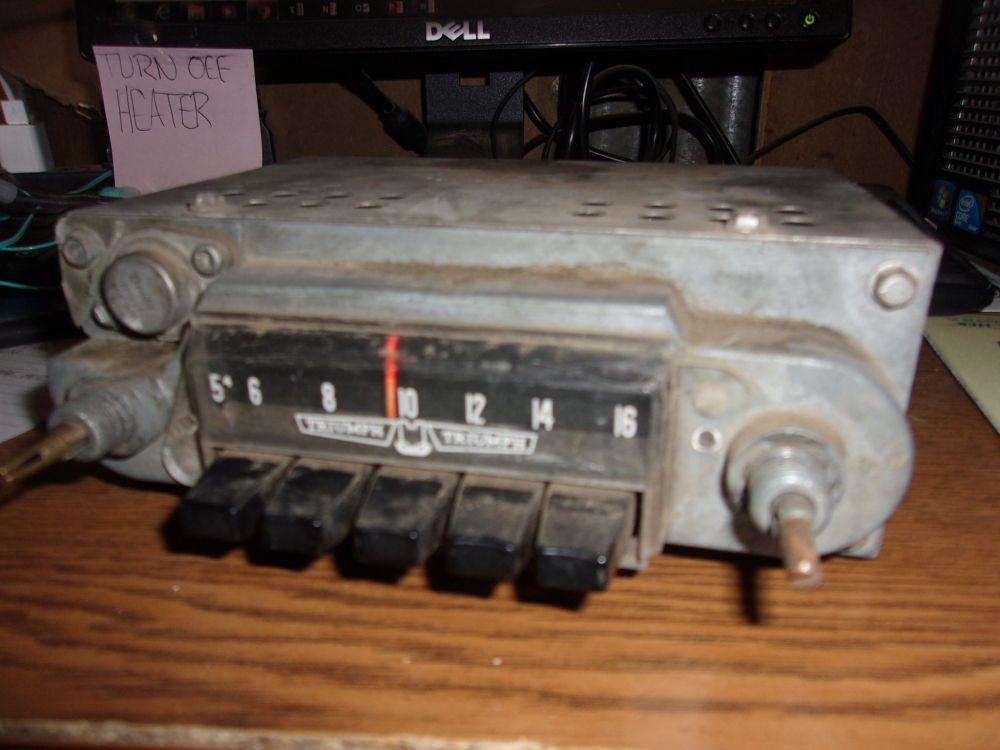 1964 Triumph Spitfire Original Am Radio Face Plate And Speakers Bundle 75 Car Parts For Sale Triumph Spitfire Radio