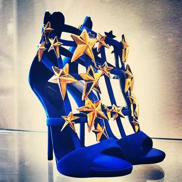 Wonder Woman Shoes... There are days I need these at the office.