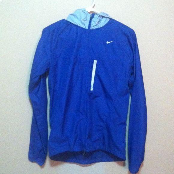 Purple Nike windbreaker Nike windbreaker. Worn a couple times. Amazing condition Nike Jackets & Coats