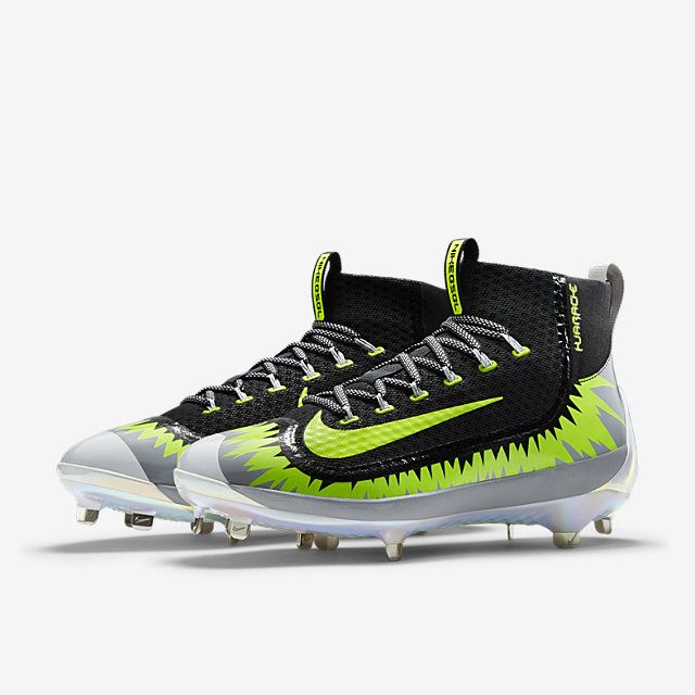 best authentic f7676 5f47e Nike Air Huarache 2KFilth Mid Fireworks Men s Baseball Cleat. Nike Store    Best shoes and cleats   Baseball cleats, Cleats, Metal baseball cleats