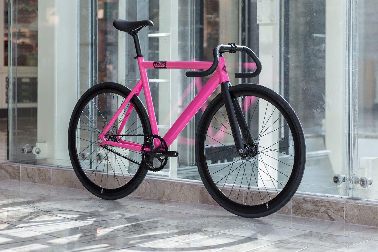 Fixed Gear Saddle Seat //// Hot Pink Track VELO Road Bike