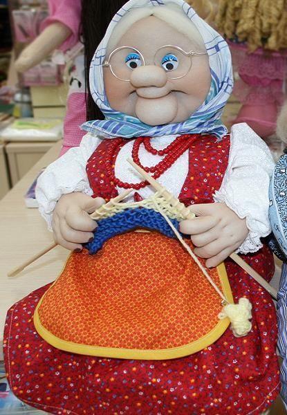 Чулочная кукла своими руками мастер