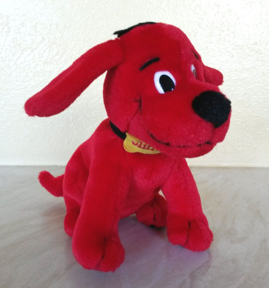 Clifford The Big Red Dog Soft Toy For Sale On Ebay Soft Toy Dog