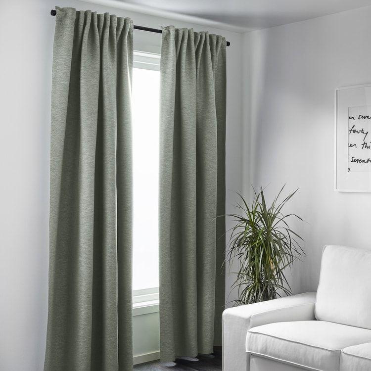 les rideaux vert sauge rideau vert