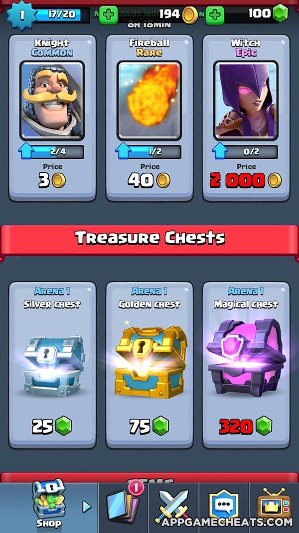 Clash Royale Hack & Cheats for Cards, Gold, Gems, & Chests ...