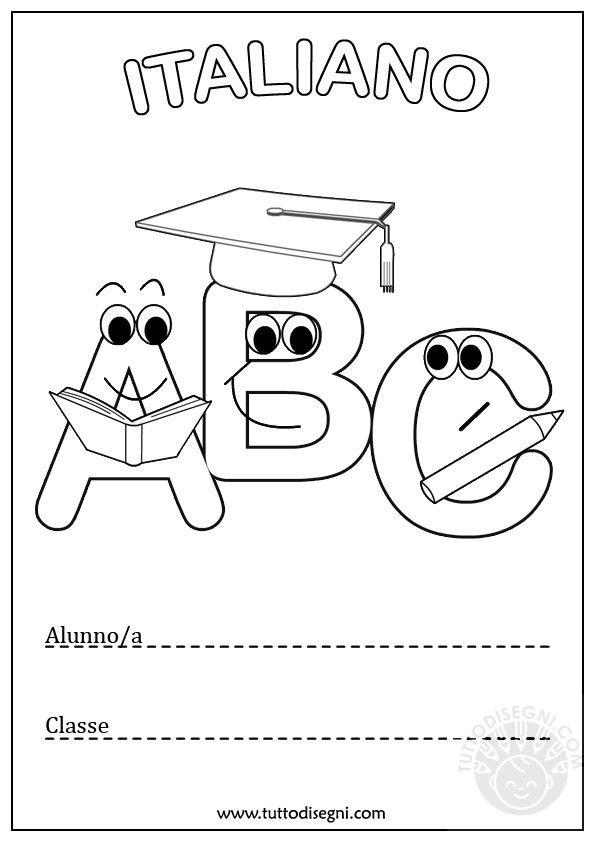 Risultati immagini per copertina quaderno italiano classe - Presidenti giorno colorare le pagine da colorare ...