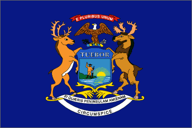 Michigan State Flag Michigan State Flag Michigan Flag Michigan Usa
