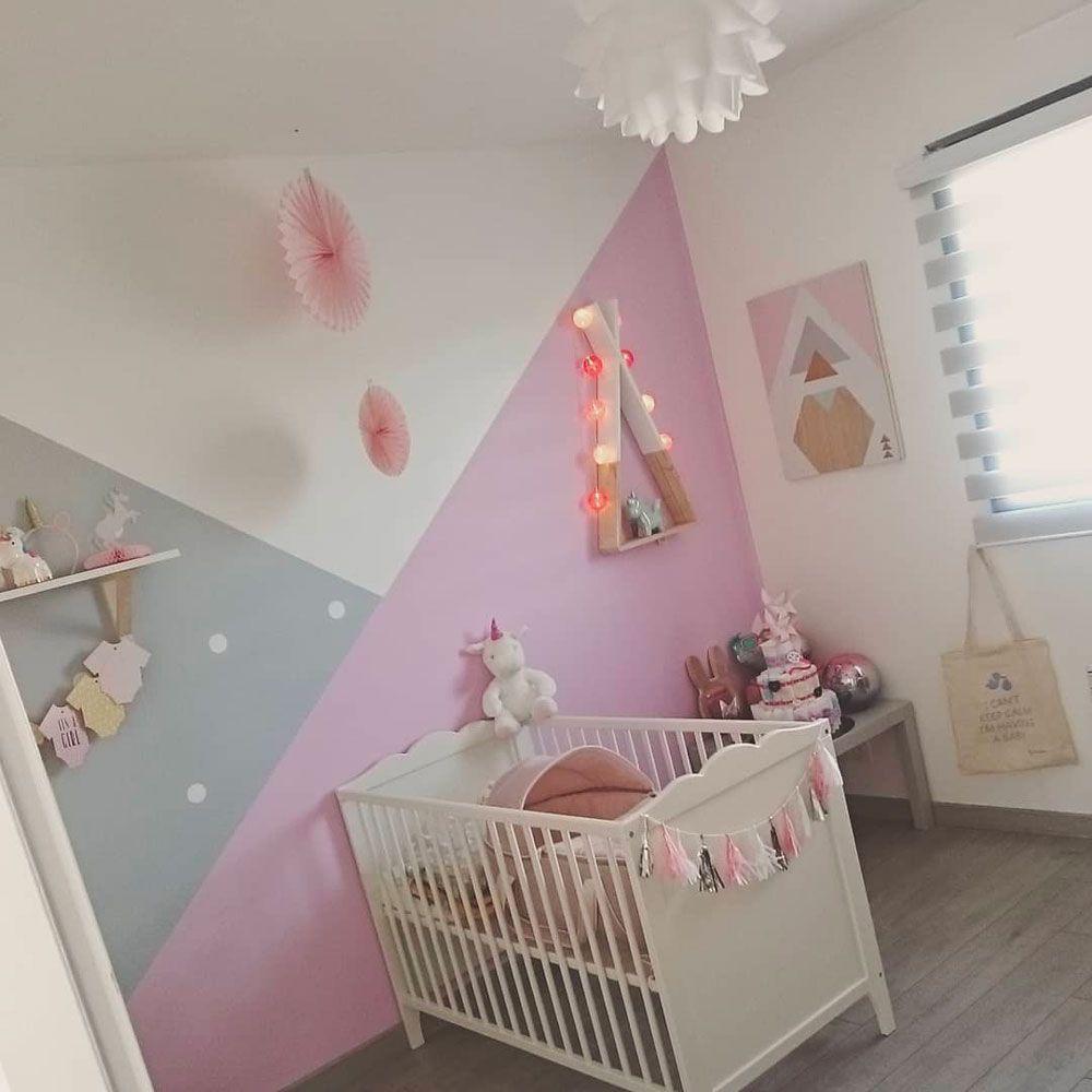 CASTING DÉCO en 16  Idée déco chambre bébé fille, Peinture