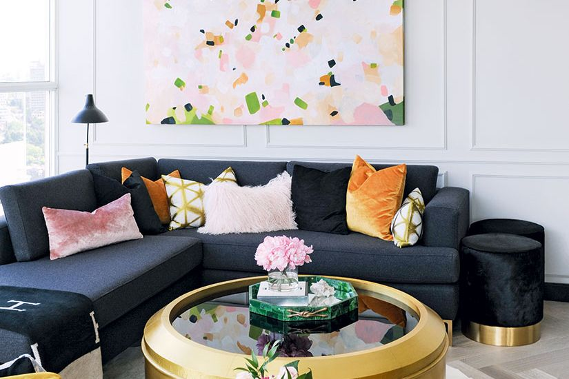 A Glam Vancouver Condo Fit For An Old Hollywood Starlet | Style At Home
