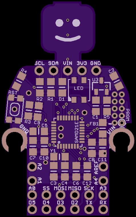 OSH Park ~ Minifigure SAMD21 Board   Shared Projects in 2019